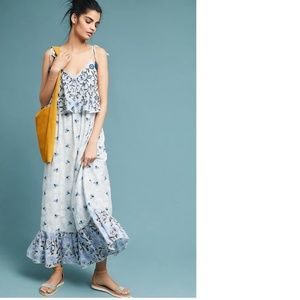 Anthropologie Alasdair Embroidered Dress NEW